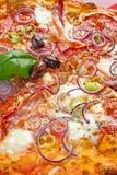 Chili Pizza Diavolo Stock Image