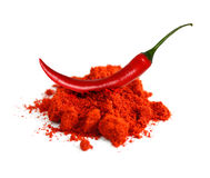 Chili powder Royalty Free Stock Photography