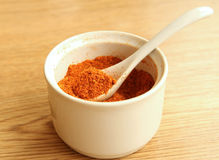 Chili powder Stock Photos