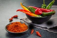 Chili Powder stockfotografie
