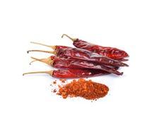 Chili Powder Fotografia Stock Libera da Diritti