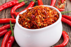 Chili powder Royalty Free Stock Photos