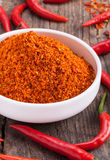 Chili powder Royalty Free Stock Images