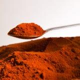 chili proszek Zdjęcie Stock
