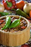 Chili przeciwu carne Fotografia Stock