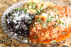 Chili Rellenos Stock Photo