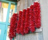 Chili Ristras Stock Photo