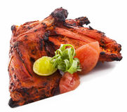 Chili roasted chicken Royalty Free Stock Photo