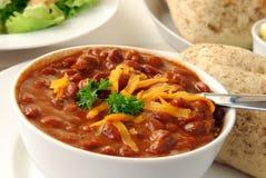 chili rolki obiadowe gorące Zdjęcia Stock