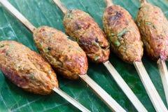 chili ryba piec na grillu mieszanka Obraz Stock