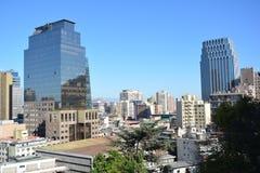 chili Santiago doet Chili Stock Foto's