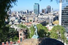 chili Santiago doet Chili Stock Fotografie