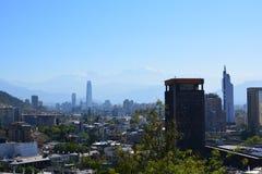 chili Santiago doet Chili Stock Afbeelding