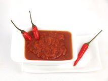 Chili Sauce Royalty Free Stock Image
