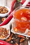 Chili Sauce dulce Imágenes de archivo libres de regalías