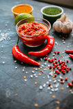 Chili sauce Royalty Free Stock Photo