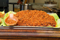 Chili Sauce (Nam Phrik) Fotografia Stock Libera da Diritti