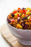 Chili sin carne Stock Photo