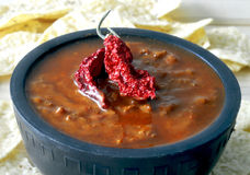 Chili soup Royalty Free Stock Photo