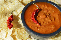 Chili soup Royalty Free Stock Images