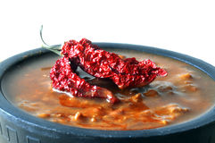 Chili soup Royalty Free Stock Photos