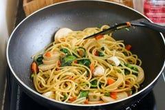 Chili spaghetti Obraz Royalty Free