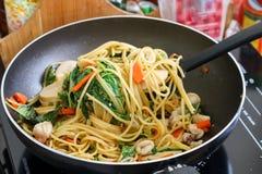 Chili spaghetti Zdjęcie Royalty Free
