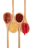 Chili Spice Variety Stock Photos