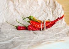 chili suszący pieprz Fotografia Royalty Free