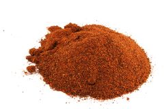 chili tła odseparowana czerwony Obraz Stock