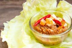 Chili Tamarind Sauce Dip. Royalty Free Stock Photos