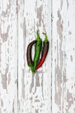 Chili, top view Royalty Free Stock Image