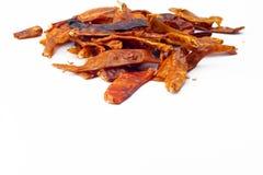 chili torkade peppar Fotografering för Bildbyråer