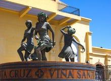 Chili - Vina Santa cruz-I Stock Foto