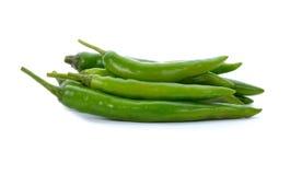 Chili zielony pieprz Obraz Royalty Free