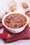 Chilien lurar carne Arkivbild