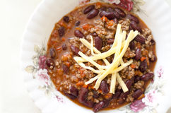 Chilien lurar carne Royaltyfri Foto