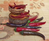 chilies Stock Foto