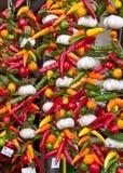 chilies czosnek Zdjęcie Stock