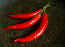 Chilies. Kitchen comodities that very important to add spicy Stock Photo