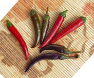 Chilies Royalty Free Stock Photography