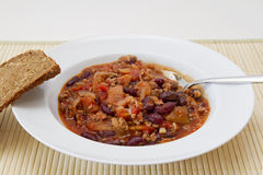 Chilii con carne Royalty Free Stock Photo