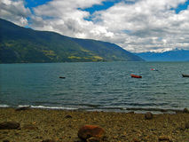 Chilijczyka Southland wybrzeże Fotografia Stock