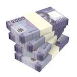 Chilijscy peso odizolowywający na białym tle Obrazy Stock