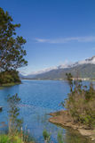 Chilijski patagonia krajobraz Obraz Stock