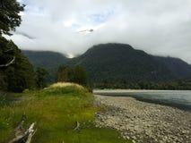 Chilijski patagonia krajobraz Fotografia Stock