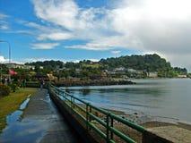 Chilijski południowy port fotografia royalty free