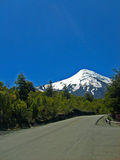 Chilijski wielki vulcano fotografia stock