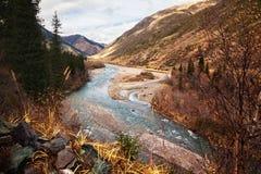 chilik ποταμός του Καζακστάν στοκ εικόνα με δικαίωμα ελεύθερης χρήσης