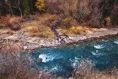 Chilik river in Kazakhstan Stock Photo